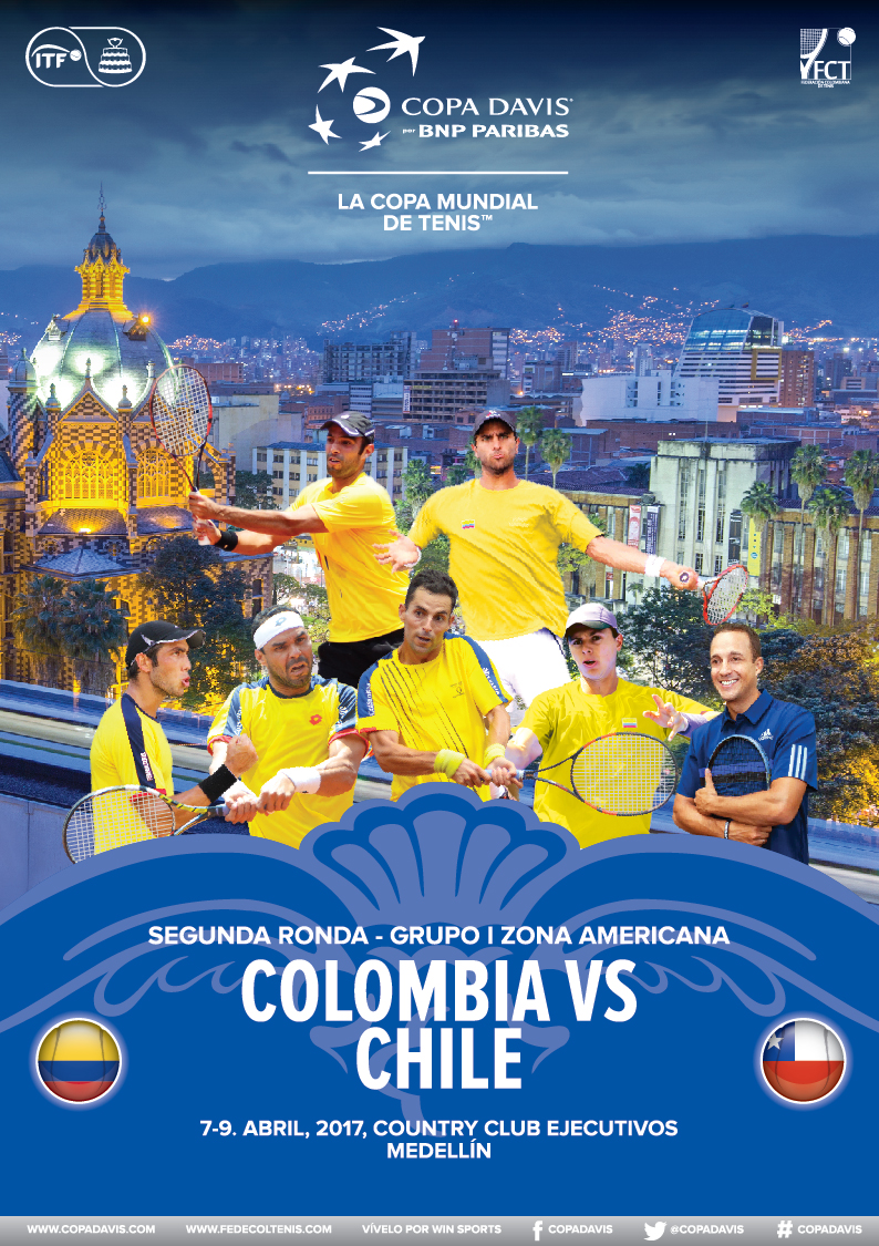 Revista Copa Davis - Colombia vs Chile 2017