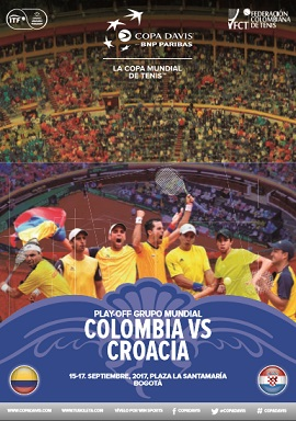 Revista Copa Davis - Colombia vs Croacia 2017