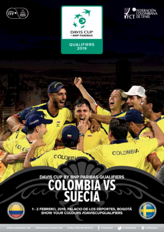 Revista Copa Davis - Colombia vs Suecia 2019